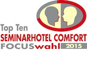 Top Ten Seminarhotel Comfort Focuswahl 2015